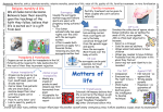 AQA Matters of Life – Revision Poster