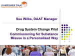System change personalisation - Sue Wilks