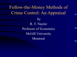 Follow-the-Money Methods of Crime Control: An Appraisal