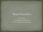 Sleep Disorders - Cloudfront.net
