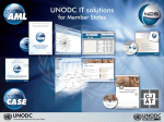 unodc software solutions - goAML - United Nations Office on Drugs