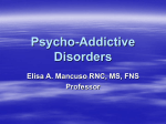 Psycho-Addictive Disorders