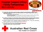 Advert Program Support Officer January 2016
