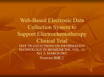 Web-Based Electronic Data Collection System to Support