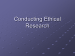 Day 4- Research Ethics
