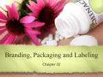 Sec. 31.2 – Packaging and Labeling