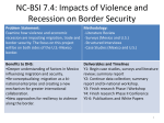 NC-BSI: Project Title - National Center for Border Security and