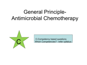Q:A Patient requiring some antibiotic for his recent infection is
