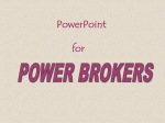 PowerPoint for Power Brokers