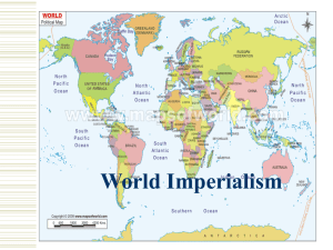 World Imperialism - Chandler Unified School District