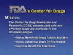 The FDA and Clinical Trials