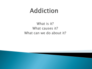 Addiction Powerpoint