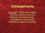 Schizophrenia Definition