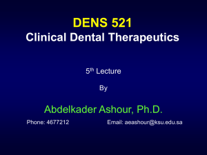 DENS 521 5th S - Home - KSU Faculty Member websites