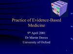 Evidence Based Primary Care