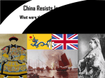 China Resists Imperialism