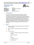 Alcohol and Drugs Policy 513