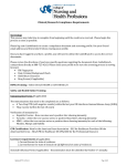 Compliance	Requirements Clinical/Research