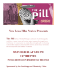 New Lens Film Series Presents  The Pill