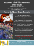 Towards Novel Drug Targets MIDLANDS BIOPHYSICS NETWORK SYMPOSIUM