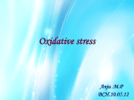 Oxidative stress - The language of Biochemistry