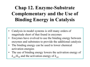 Chap 7. Detection of Intermediates in Enzymatic Reactions