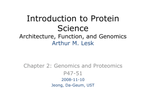 Introduction to Protein Science Architecture, Function