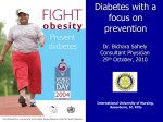Diabetes - Rotary Club of Liamuiga