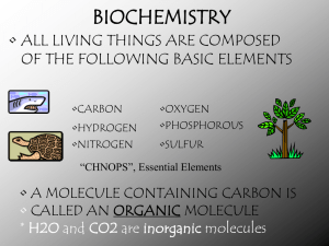 Biochemistry power point