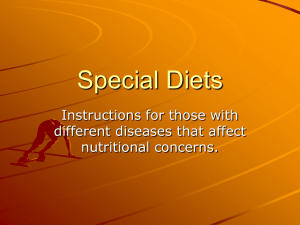 Special Diets - Liberty Union High School District