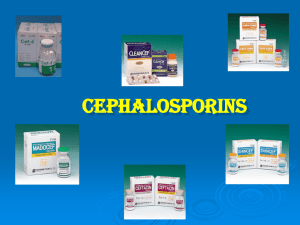 Second-generation cephalosporins