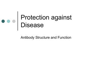 Protection against Disease