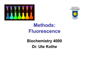 Methods: Fluorescence