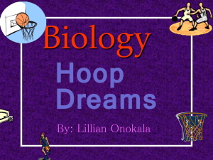 Biology Hoop Dreams