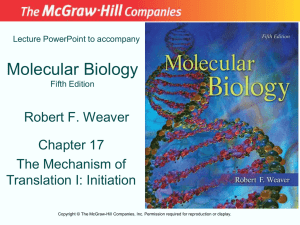 Chapter 17 Lecture PowerPoint - McGraw Hill Higher Education