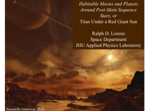 Habitable Moons and Planets Around Post-Main Sequence