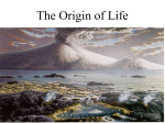 The Origin of Life