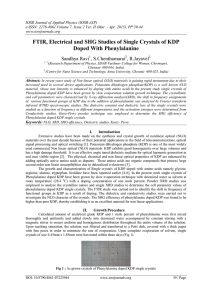 IOSR Journal of Applied Physics (IOSR-JAP)