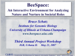 THE INTERSPACE PROTOTYPE An Analysis Environment for