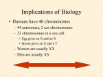 Implications of Biology