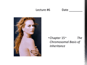 Lecture #6 Date ______