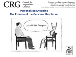 Jeremy Gruber - PowerPoint - Personlaized Medicine