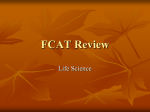 FCAT Review Life Science