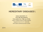 HEREDITARY DISEASES phenylketonuria