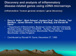 Discovery and analysis of inflammatory disease-related