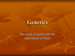 Genetics - World of Teaching