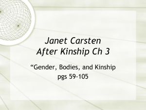 Janet Carsten After Kinship Ch 3