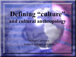 "Defining ""culture"" - Episcopal Diocese of Central Florida"