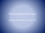 The European dimension