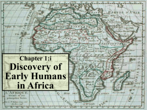 1:i - Discovery of Early Humans in Africa